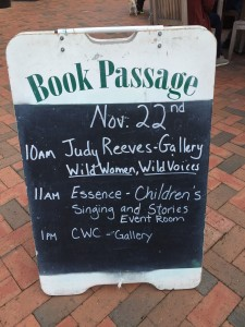 book passage sign